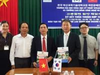 Ký kết thỏa thuận hợp tác với ĐH Khoa học và Kỹ thuật Busan Hàn Quốc