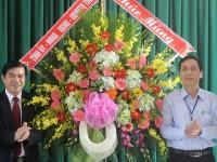 Lãnh đạo tỉnh thăm và chúc mừng Trường Cao đẳng Công nghệ nhân ngày Nhà giáo Việt Nam