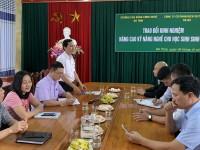 Trường CĐ Công nghệ Hà Tĩnh làm việc với Công ty Cáp treo Bà Nà - Đà Nẵng