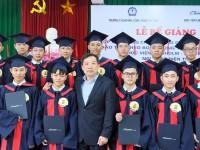 Lễ bế giảng lớp Cao đẳng Cơ điện tử cấp độ quốc tế chuyển giao từ Úc