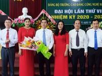 Đại hội Đảng bộ Trường Cao đẳng Công nghệ Hà Tĩnh nhiệm kỳ 2020 – 2025