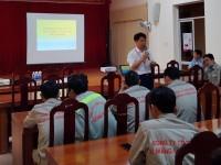 Một số hoạt động của Trung tâm huấn luyện AT,VSLĐ - Trường CĐCN Hà Tĩnh hướng tới tháng hành động về An toàn lao động năm 2021