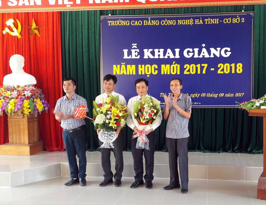 Lễ khai giảng tại Cơ sở 2 - Khu kinh tế Vũng Áng
